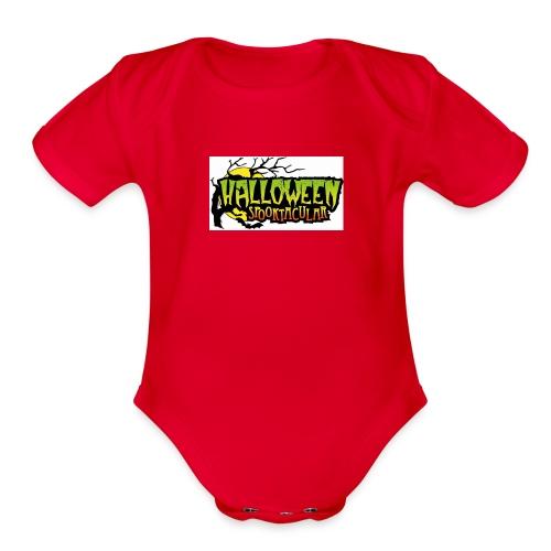 Halloween-Spooktacular - Organic Short Sleeve Baby Bodysuit