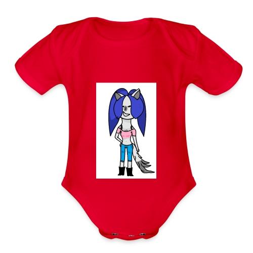Untitled - Organic Short Sleeve Baby Bodysuit