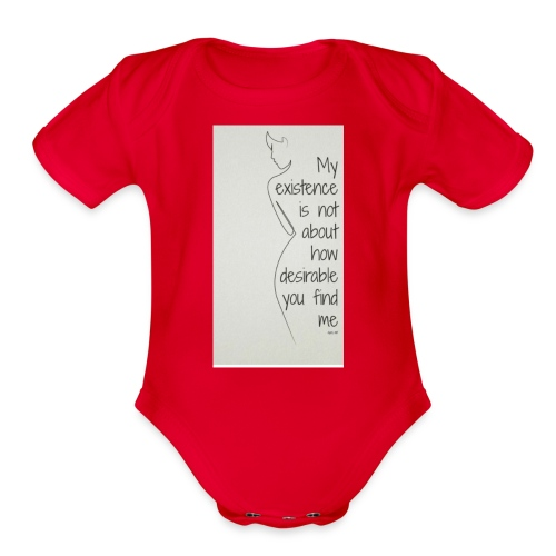 Feminist - Organic Short Sleeve Baby Bodysuit