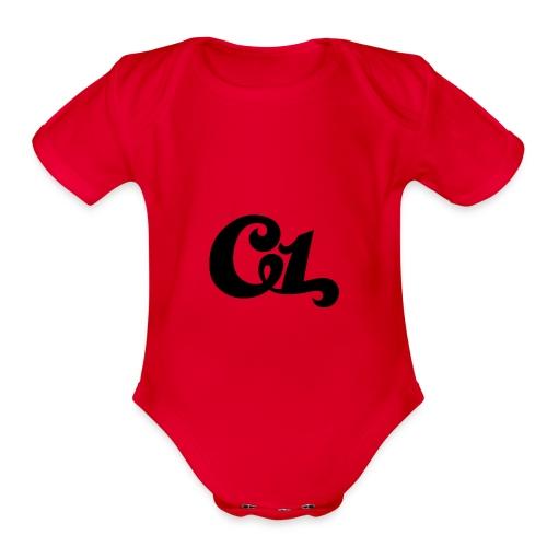 c1 officials - Organic Short Sleeve Baby Bodysuit