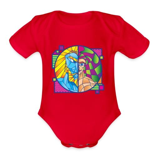 Zeus & Son - Organic Short Sleeve Baby Bodysuit