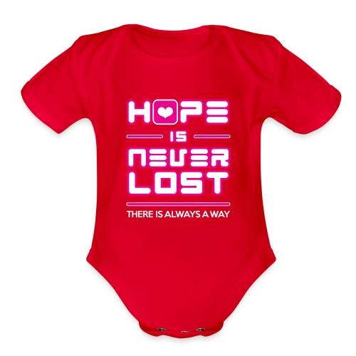 Hope is Never Lost - Organic Short Sleeve Baby Bodysuit