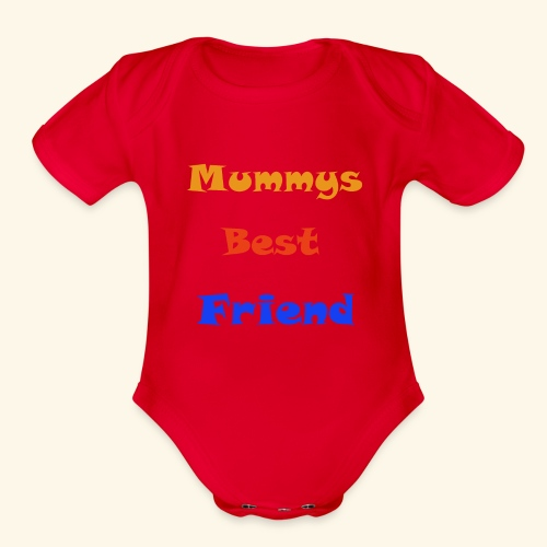 Mums Friend - Organic Short Sleeve Baby Bodysuit