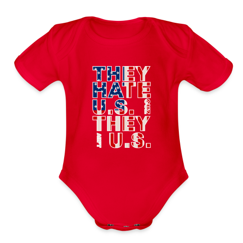 They Ain't Us - Organic Short Sleeve Baby Bodysuit