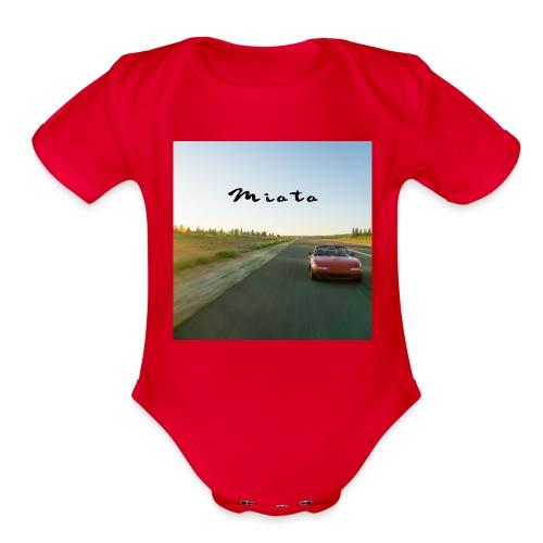 Miata Zen - Organic Short Sleeve Baby Bodysuit
