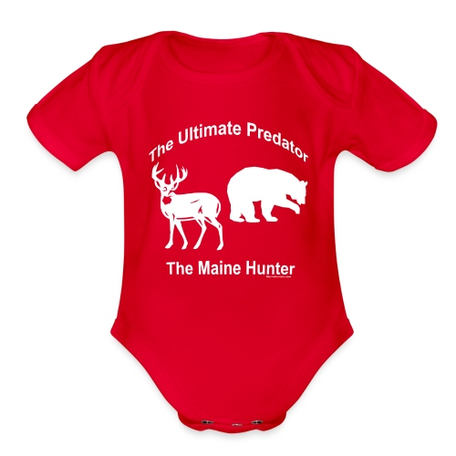 Ultimate Predator - Organic Short Sleeve Baby Bodysuit