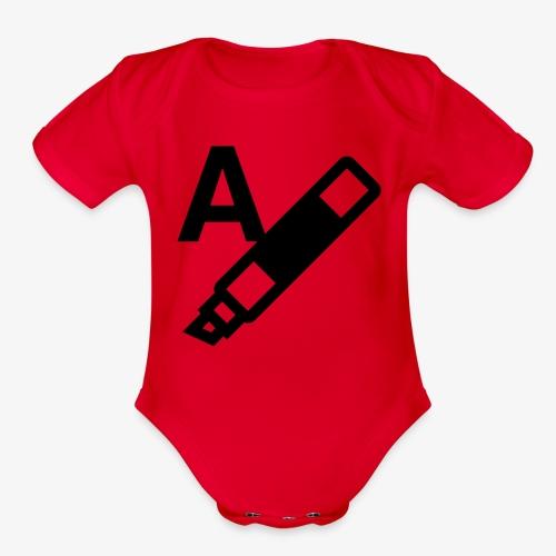 highlight text 9725fbfa6ecab13807d8513a8f59a9b5 - Organic Short Sleeve Baby Bodysuit