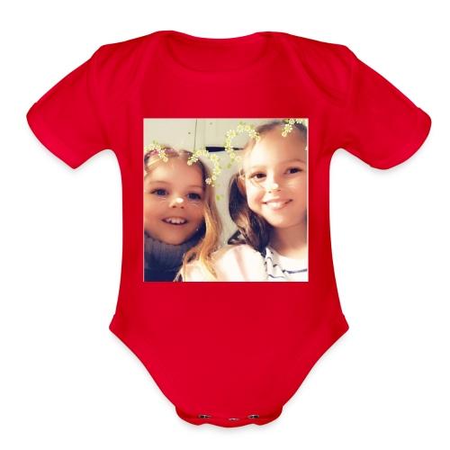 5541CE6D B069 48E3 8F31 4A620F4D1E84 - Organic Short Sleeve Baby Bodysuit