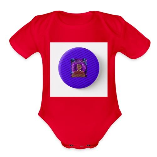 bage tipe - Organic Short Sleeve Baby Bodysuit