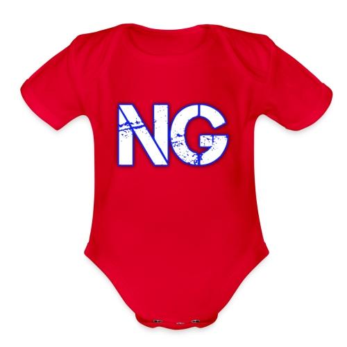 cooltext221976116542463 - Organic Short Sleeve Baby Bodysuit