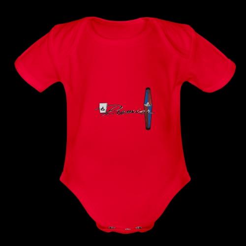 HR LOGO - Organic Short Sleeve Baby Bodysuit