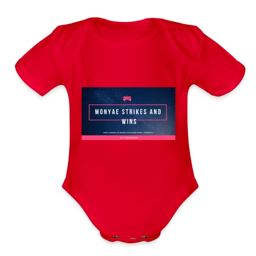 20180929 112510 0001 - Organic Short Sleeve Baby Bodysuit
