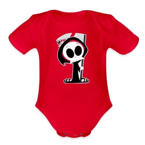 Reeper mc - Organic Short Sleeve Baby Bodysuit