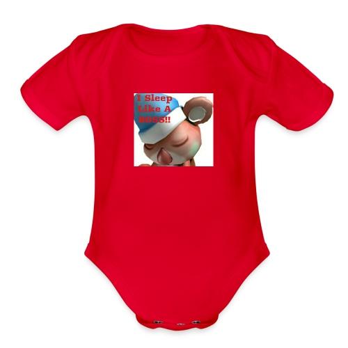SirZero Baby Shirt - Organic Short Sleeve Baby Bodysuit