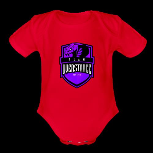 TOS Logo - Organic Short Sleeve Baby Bodysuit