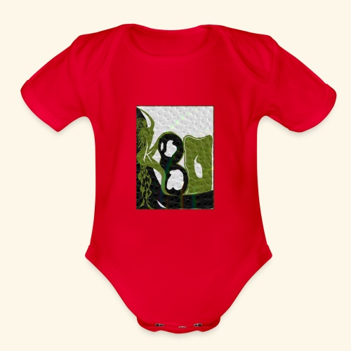 Woman - Organic Short Sleeve Baby Bodysuit