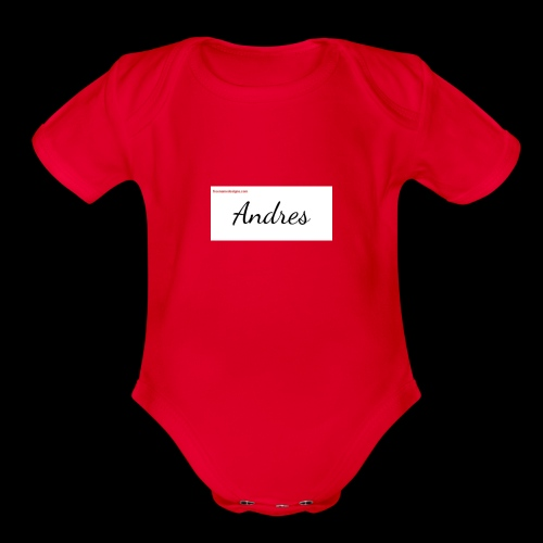 andreshoody - Organic Short Sleeve Baby Bodysuit