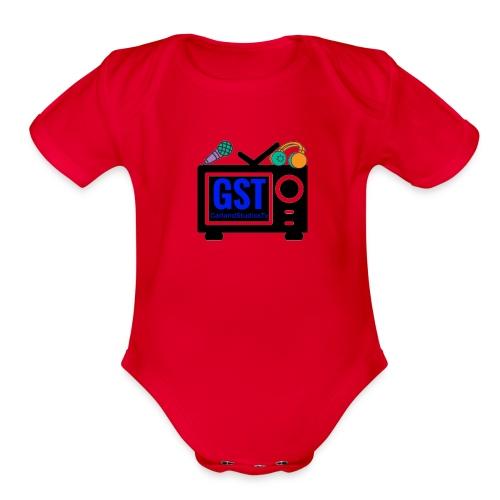 gst - Organic Short Sleeve Baby Bodysuit