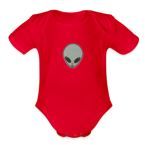 Alien - Organic Short Sleeve Baby Bodysuit