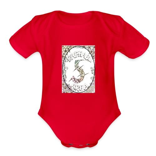 Rahy - Organic Short Sleeve Baby Bodysuit
