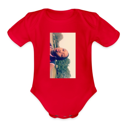 Sweatshirts - Organic Short Sleeve Baby Bodysuit