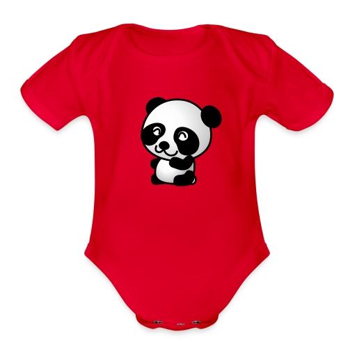Baby Animal Collection - Organic Short Sleeve Baby Bodysuit