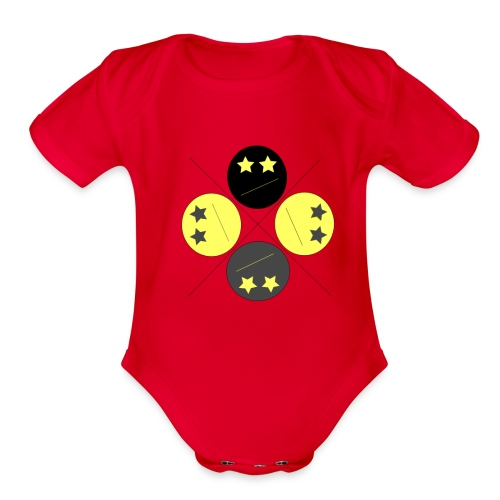 PolyFlection - Organic Short Sleeve Baby Bodysuit