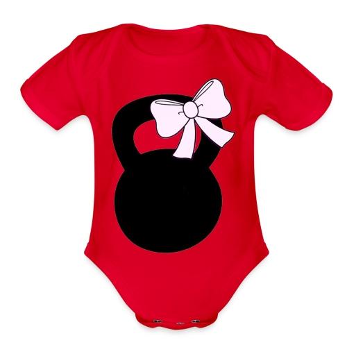 Kettlebow - Organic Short Sleeve Baby Bodysuit