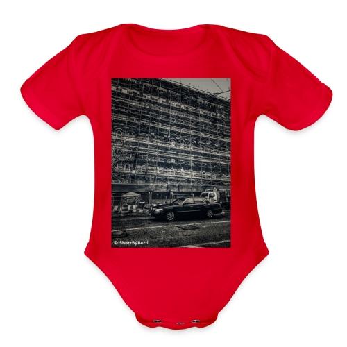 NYC Street 2 - Organic Short Sleeve Baby Bodysuit