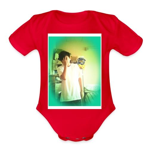 Derek Nguyen75 - Organic Short Sleeve Baby Bodysuit