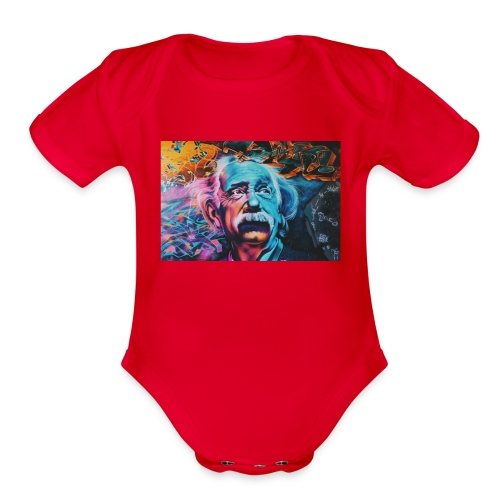 think - Organic Short Sleeve Baby Bodysuit