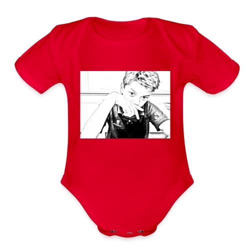 Lucci27 Shirt - Organic Short Sleeve Baby Bodysuit