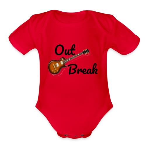 OutBreak - Organic Short Sleeve Baby Bodysuit