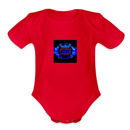 logo_3 - Organic Short Sleeve Baby Bodysuit