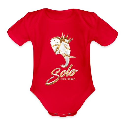 Solo Music Group - Organic Short Sleeve Baby Bodysuit