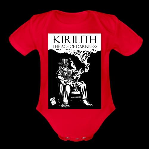 Doc Brimstone 001 - Organic Short Sleeve Baby Bodysuit