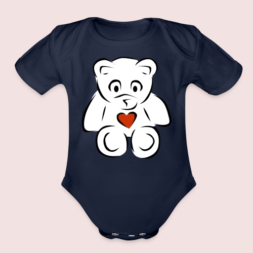 Sweethear - Organic Short Sleeve Baby Bodysuit