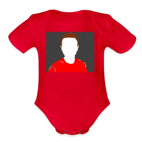 ChickenBilly shirt - Organic Short Sleeve Baby Bodysuit