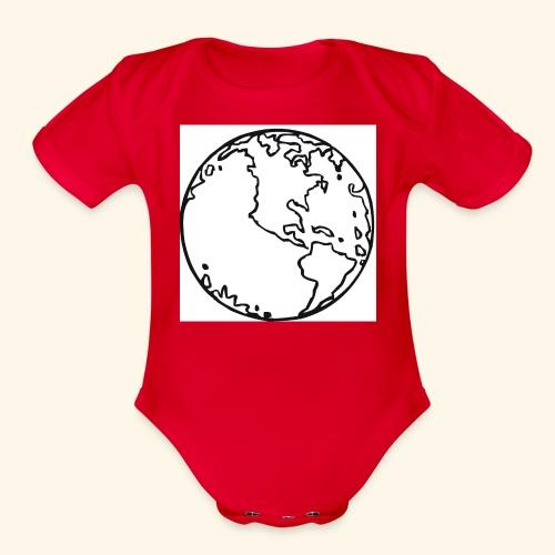 eris - Organic Short Sleeve Baby Bodysuit