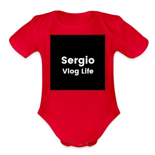 Sergio Lopez - Organic Short Sleeve Baby Bodysuit