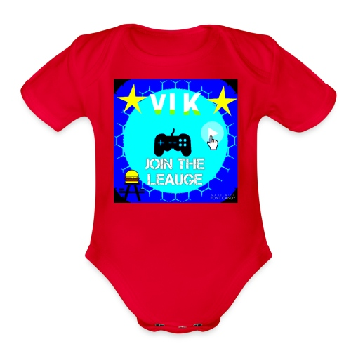 MInerVik Merch - Organic Short Sleeve Baby Bodysuit
