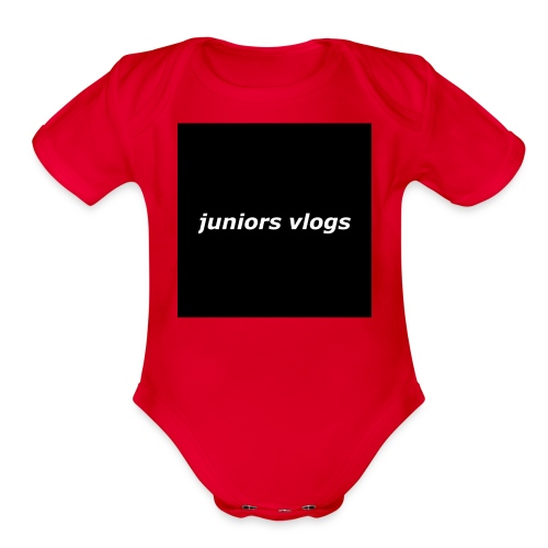 Juniors vlogs clothing - Organic Short Sleeve Baby Bodysuit