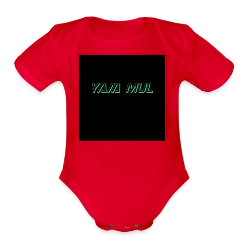 IMG 1368 - Organic Short Sleeve Baby Bodysuit