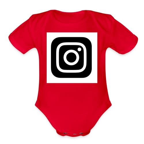 IMG 0091 - Organic Short Sleeve Baby Bodysuit