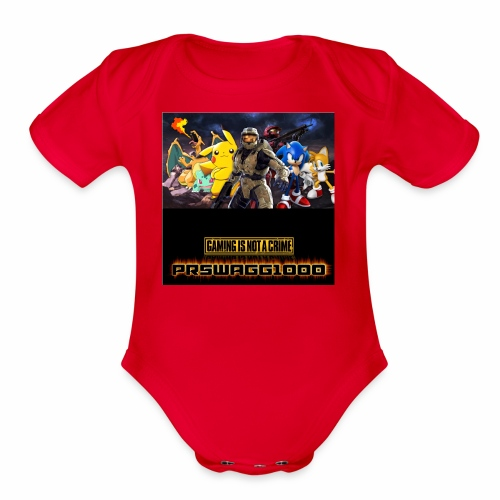 games galore - Organic Short Sleeve Baby Bodysuit