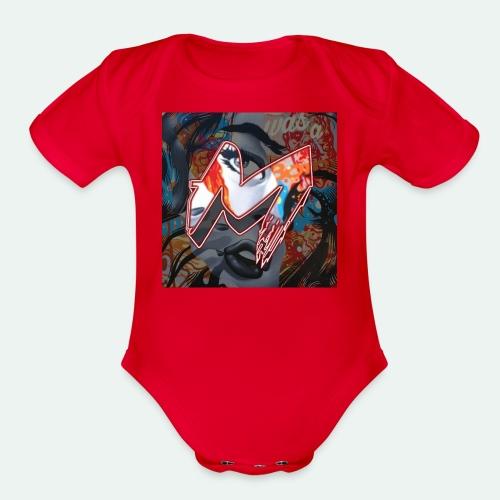 IMG - Organic Short Sleeve Baby Bodysuit
