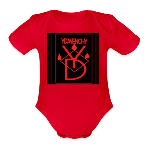 Ydavenchy Day 1 - Organic Short Sleeve Baby Bodysuit