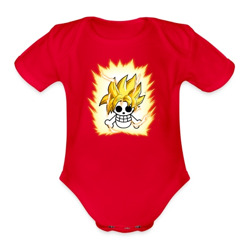 DBZ OnePiece - Organic Short Sleeve Baby Bodysuit