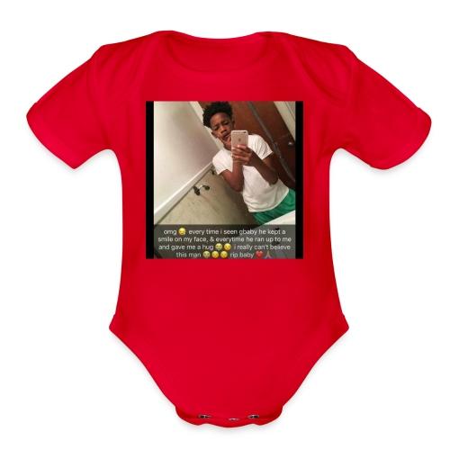 gbaby - Organic Short Sleeve Baby Bodysuit