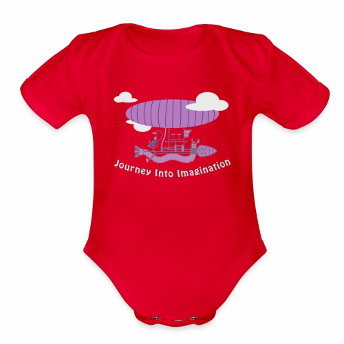 Airship of Dreams - Organic Short Sleeve Baby Bodysuit
